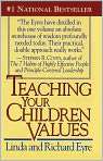 Book Cover Image. Title: Teaching Your Children Values, Author: by Richard Eyre