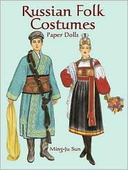 Russian Folk Costumes Paper Dolls