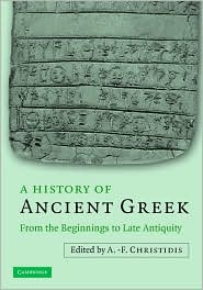 A History of Ancient Greek : From the Beginnings to Late Antiquity
