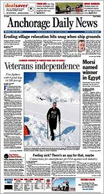 Anchorage Daily News - June 25, 2012