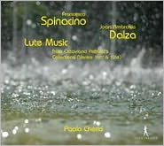 Lute Music From Ottaviano Petrucci's (CD) ~ Spinacino Cover Art