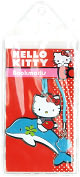 Product Image. Title: Dolphin Hello Kitty Metal Bookmark
