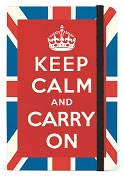 Product Image. Title: Keep Calm Bound Pocket Lined Journal 4 X 6
