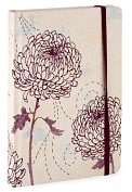 Product Image. Title: Chrysanthemum Lined Journal (6x8)