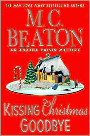 Kissing Christmas Goodbye by M. C. Beaton: Book Cover