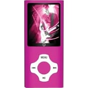 Product Image. Title: Visual Land Rave VL-677 8 GB Pink Flash Portable Media Player