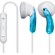 Product Image. Title: Sony Earbuds with In-line iPod Remote - Blue
