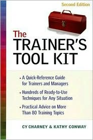 Trainer's Tool Kit, The by Cy Charney: Book Cover