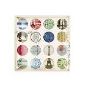 Product Image. Title: Paris Dot Tray 4.5 x 4.5