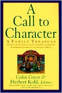 A Call to Character by Colin Greer: Book Cover