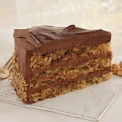 Product Image. Title: Chocolate Nut Torta made with Nutella