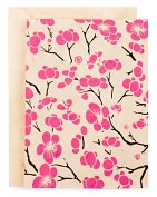 Product Image. Title: Cherry Blossom Nepal Notecard -Set of 6