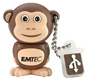 Product Image. Title: EMTEC M322 Animal Series Safari 4 GB USB 2.0 Flash Drive - Monkey