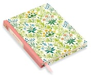 Product Image. Title: William Morris Wildflowers Classic Bound Lined Journal 5.25 X 6.75