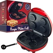 Product Image. Title: American Originals Mini Burger Maker Grill