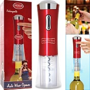 Product Image. Title: Automatic Wine Corkscrew Opener Electric Rechargeable