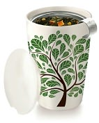 Product Image. Title: Green Leaves Kati Cup - Tea Brewing System