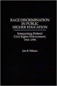 Race Discrimination in Public Higher Ed...