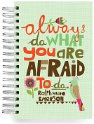Product Image. Title: 100% Recycled Always Do Quote Lined Spiral Journal 6x9