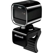 Product Image. Title: Microsoft LifeCam HD-6000 Webcam - USB 2.0