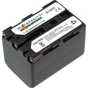 Product Image. Title: Battery Biz High Capacity B-9599 Lithium Ion Camcorder Battery