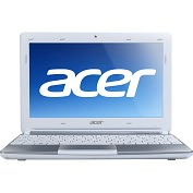 "Product Image. Title: Acer Aspire One AOD270-26Dws 10.1"" LED Netbook - Intel Atom N2600 1.60 GHz"