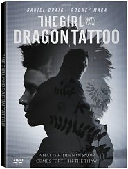 The Girl With The Dragon Tattoo starring Daniel Craig: DVD Cover