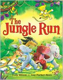 The Jungle Run by Tony Mitton: Book Cover