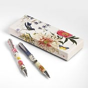 Product Image. Title: Scrapbook Bird Pen &amp; Mechanical Pencil Set in Gift Box