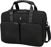 Product Image. Title: Victorinox Tourbach 2.0 Computer Brief - Black - 17 inch