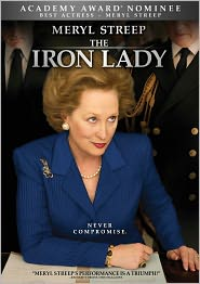 The Iron Lady starring Meryl Streep: DVD Cover