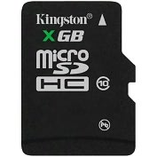 Product Image. Title: Kingston SDC10/8GBSP 8 GB MicroSD High Capacity (microSDHC) - 1 Card