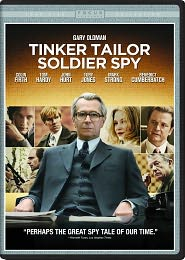 Tinker, Tailor, Soldier, Spy starring Gary Oldman: DVD Cover