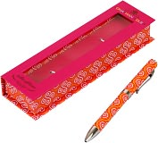 Product Image. Title: Jonathan Adler Rose Print Pen