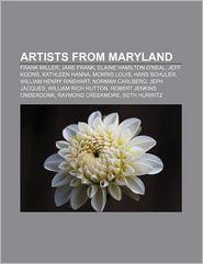 Artists from Maryland: Frank Miller, Jane Frank, Elaine