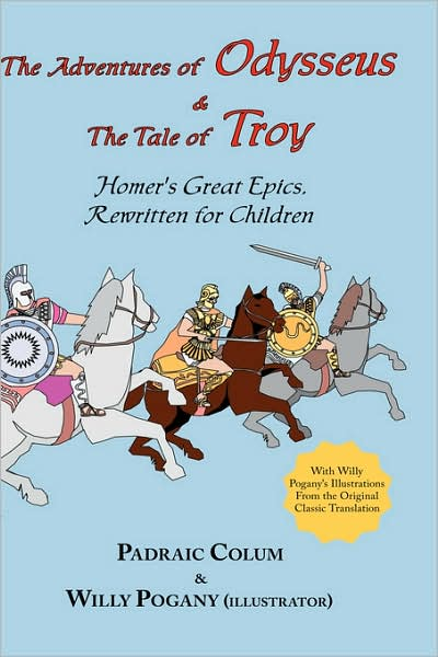 The Adventures Of Odysseus & The Tale Of Troy book cover