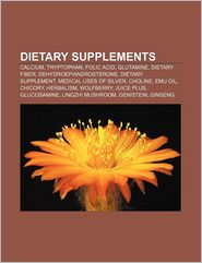 Dietary supplements: Calcium, Tryptophan, Folic acid, Glutamine, Dietary fiber, Dehydroepiandrosterone, Dietary supplement