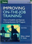 Improving on the Job Training by Rothwell J. Rothwell: Book Cover