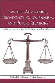 Law for Advertising, Broadcasting, Jour...