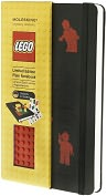 Product Image. Title: Moleskine Limited Edition Lego Red Brick Plain Large 5x8.25