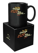 Product Image. Title: Quotable Be the Change Mug