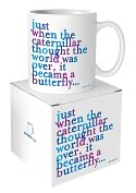 Product Image. Title: Quotable Caterpillar Butterfly Mug
