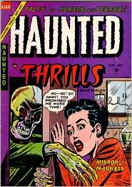 Haunted Thrills Number 17 Horror Comic Book