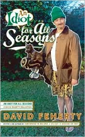 An Idiot for All Seasons by David Feherty: Book Cover