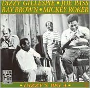 Dizzy's Big 4 (Vinyl) ~ Dizzy Gillespie''s Big 4 Cover Art