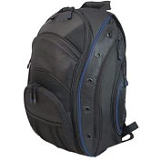 Product Image. Title: Mobile Edge EVO Laptop Backpack - Black / Blue