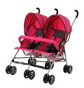Product Image. Title: Dream On Me, Twin Stroller, Pink