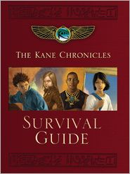 Rick Riordan - The Kane Chronicles Survival Guide (PagePerfect NOOK Book)