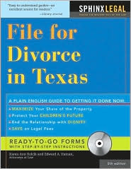 File for Divorce in Texas, 5E
