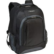 "Product Image. Title: Targus TSB19602US Carrying Case (Backpack) for 16"" Notebook - Black, Gray"